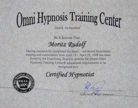 OHTC CH Zertifikat klein - Details zur Hypnoseausbildung in Berlin